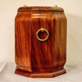 incinerare urna lemn inchis INHUMARE/INCINERARE