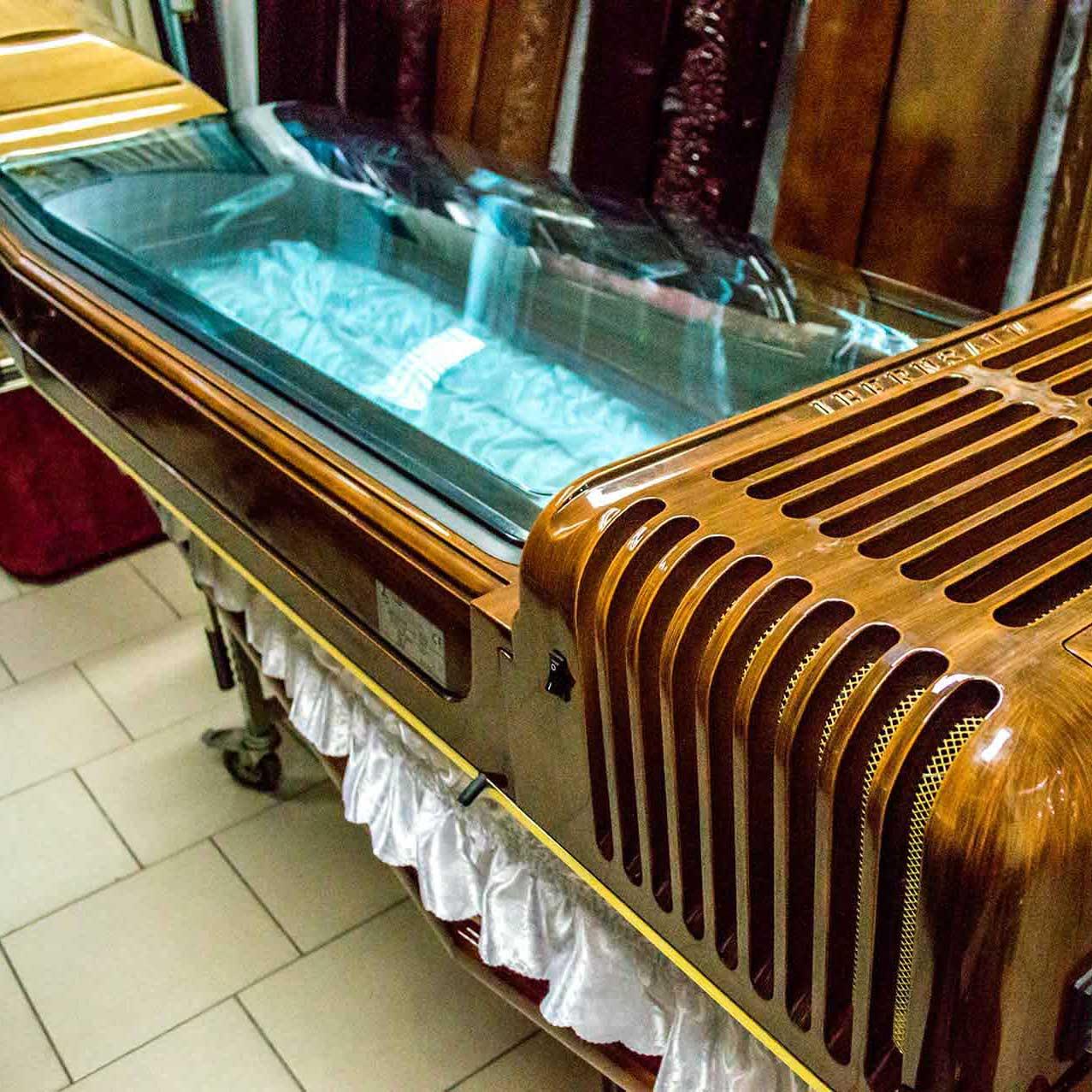 Servicii funerare - capac frigorific - Anthony