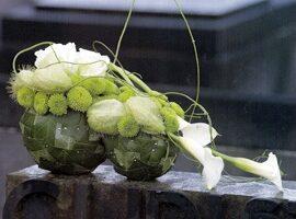 aranjament floral funerar natural Anthony