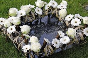 coronita funerara Anthony
