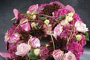 aranjament floral funerar Anthony