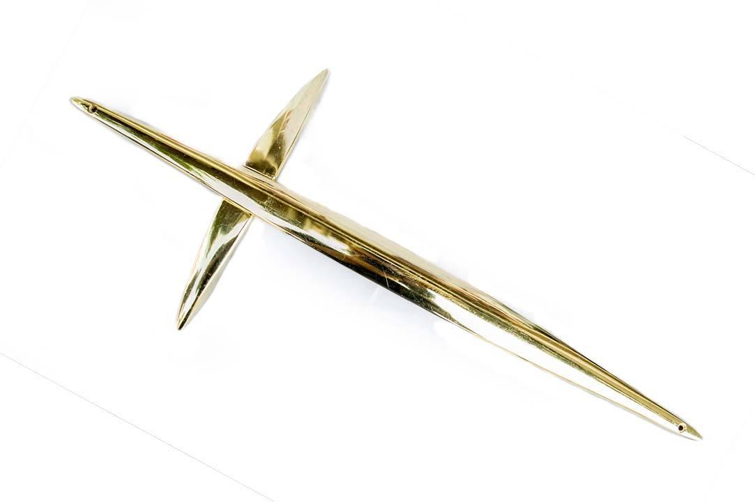 Crucifix auriu pentru sicriu Anthony