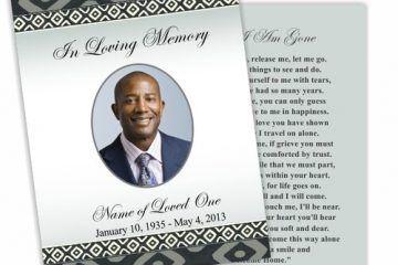 card condoleante